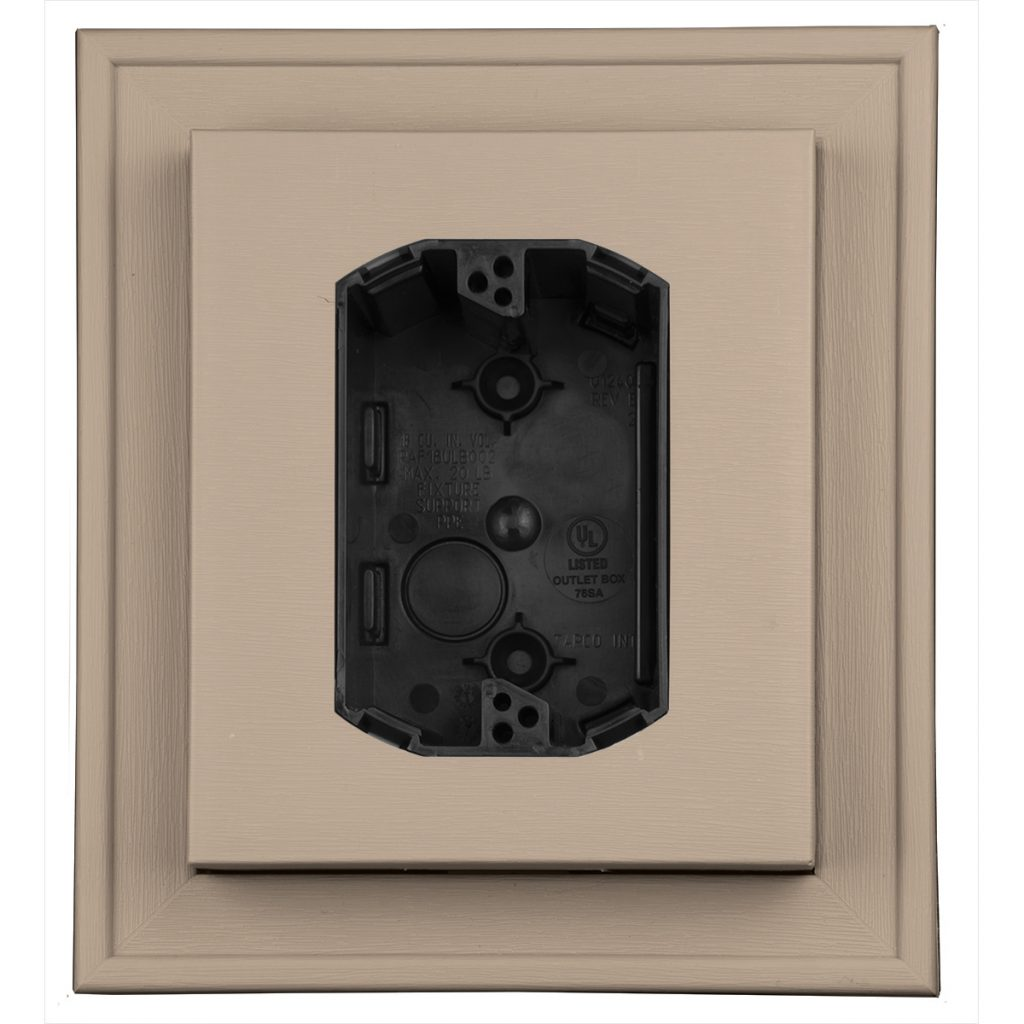 Exterior Electrical Mounting Blocks Ul Listed Mid America